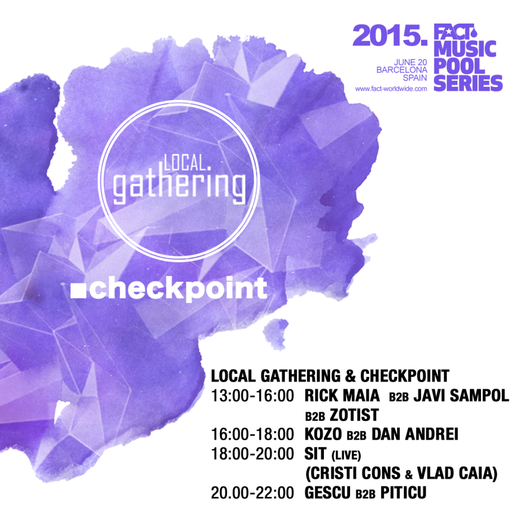 Final Local Gathering & Checkpoint Timetable